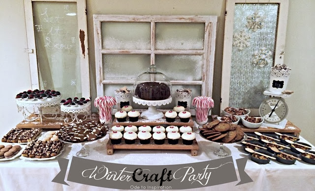 Winter-Crafting-Party-Dessert-Table2