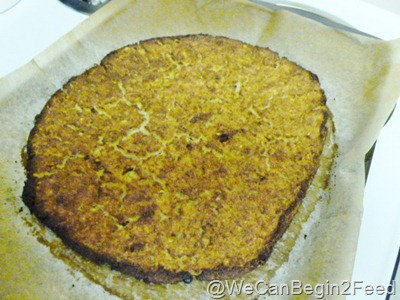 Feb 13 cauliflower pizza crust 002