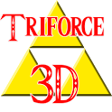 Zelda Triforce 3D icon
