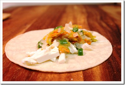 Squash Blossoms Quesadillas | easy and with excellent results to impress your guests