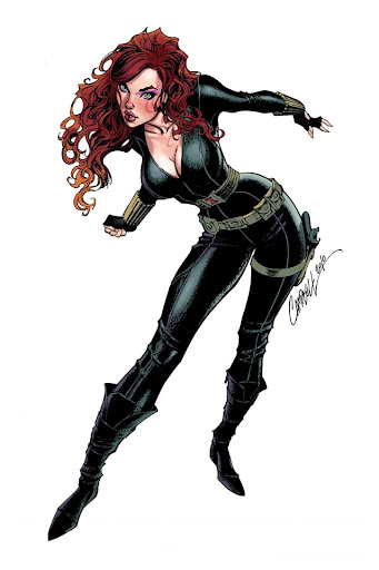 Scarlett Johansson Is The Black Widow Page 11 The