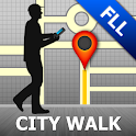 Fort Lauderdale Map and Walks icon