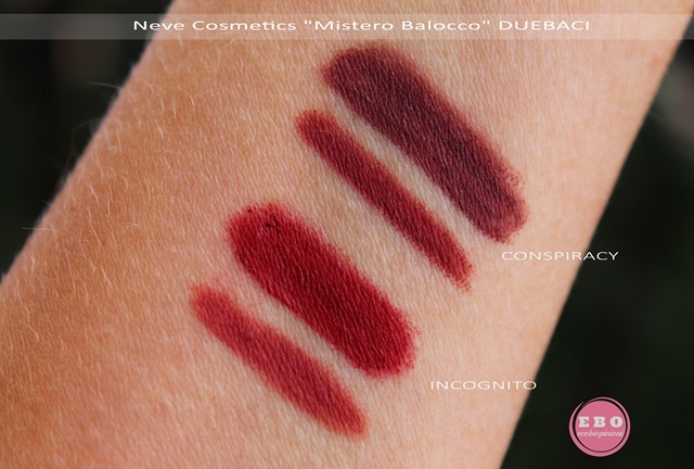 BAROCCO_NEVECOSMETICS_duebaci SWATCHES