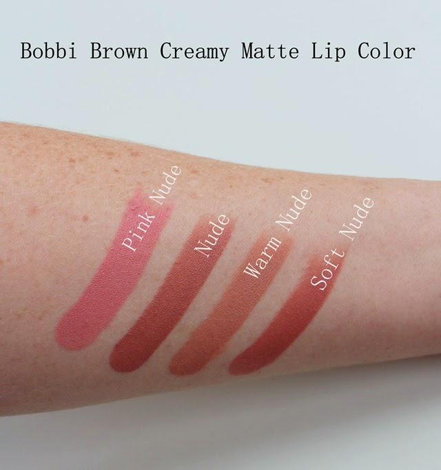 Bobbi Brown Creamy Matte Lip Color Lipstick Swatches