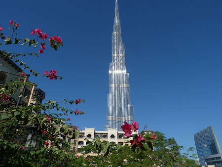 Obiective turistice Dubai: Burj Khalifa, cel mai inalt turn din lume