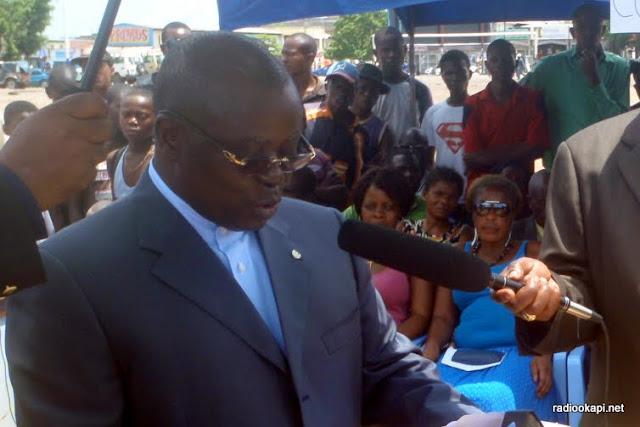 André Kimbuta Yango, gouverneur de Kinshasa