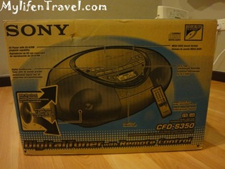 Sony CD player S350 2