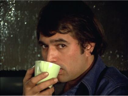 Kamal sipping