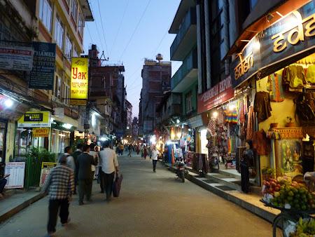 Thamel, cartierul turistic din Kathmandu