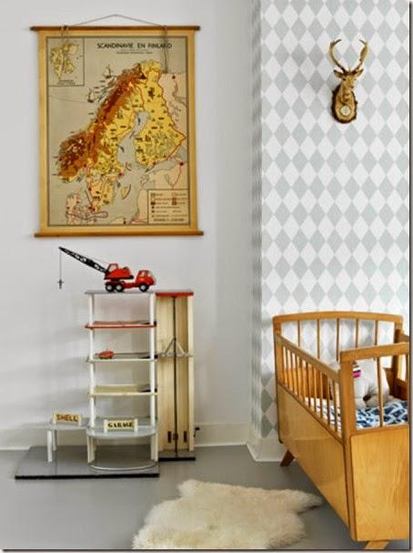 vintage kid's room 3