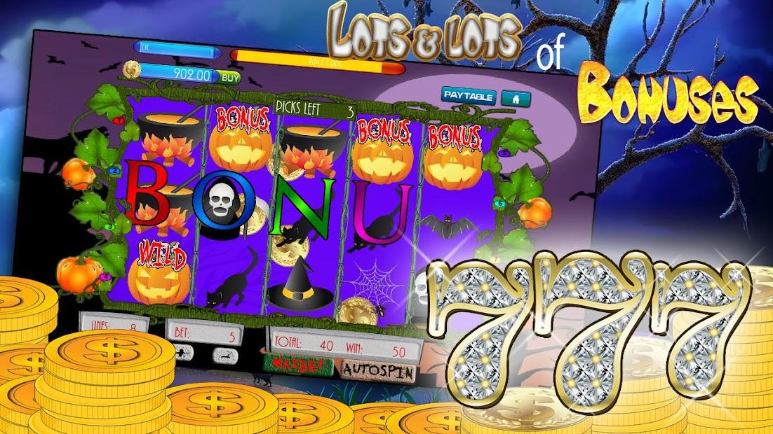 Halloween slot machine free