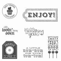 Num Num Clear Stamp  Set