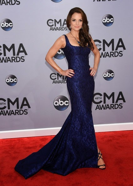 Kimberly Williams-Paisley attends the 48th annual CMA Awards