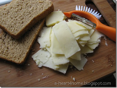 easy way to slice cheese