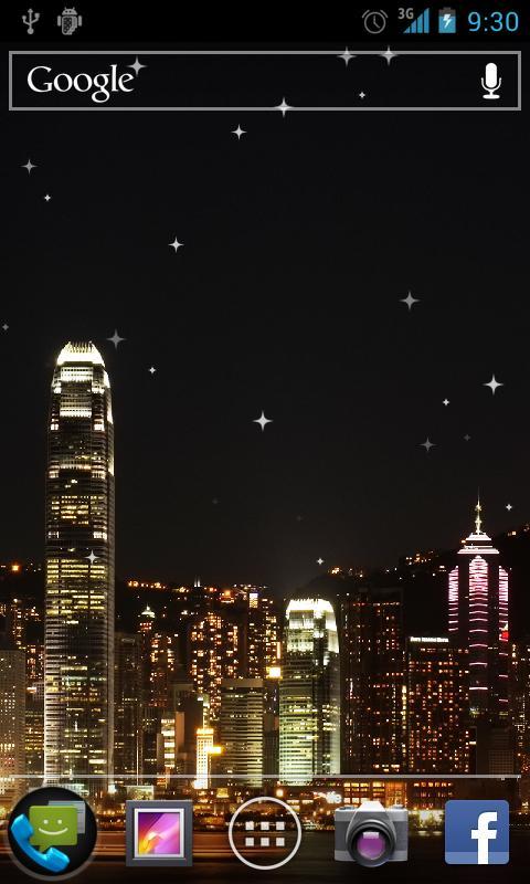 Hong Kong Live Wallpaper- screenshot