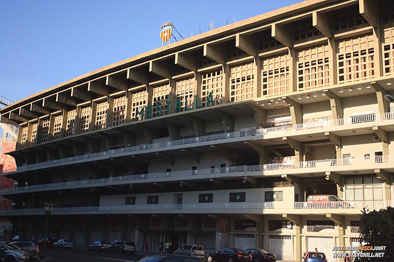Si in fine, stadionul Mestalla. In ziua respectiva din pacate, nu se putea vizita.