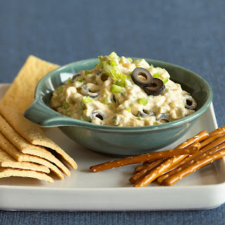 Buffalo Wing Style Olive Dip.