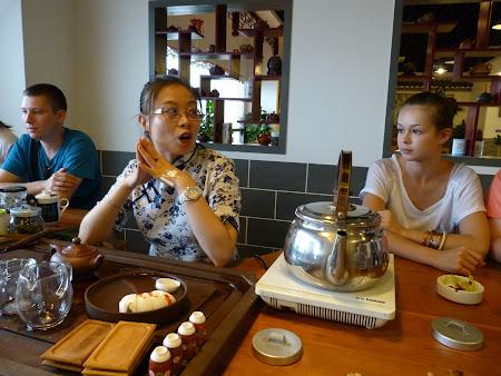 Traditii China: Ceremonia ceaiului la Shanghai