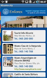 Enforex Spain Pocket Guide - screenshot thumbnail