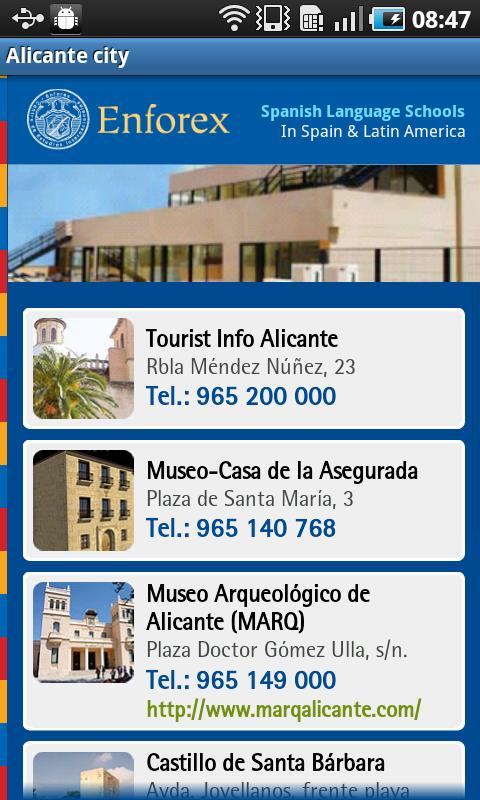 Enforex Spain Pocket Guide - screenshot