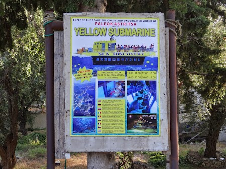 11. Yellow submarine Paleokastrita.JPG