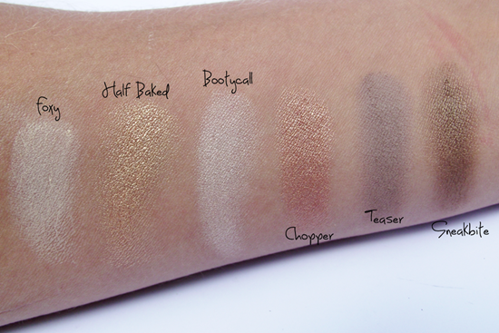 Swatches Naked 2 - 1a. parte