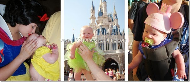 babies at Disney World
