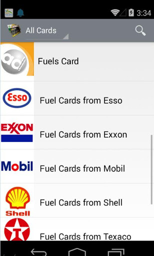 Find Fuel Cards
