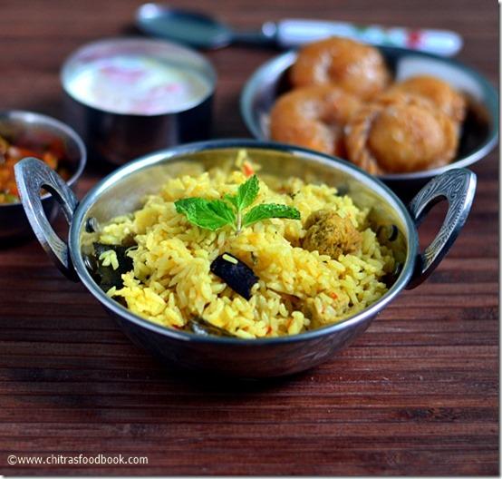 Tamil Wedding Food Menu: Muslim Wedding Biryani Recipe-Bai Biryani-Sunday Lunch