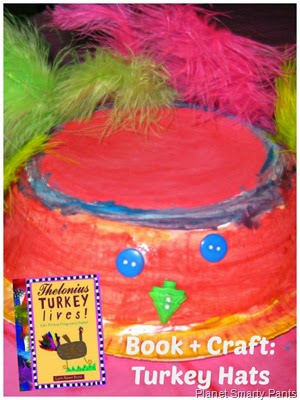 Turkey Hat Craft for Preschool - Perfect for Thanksgiving