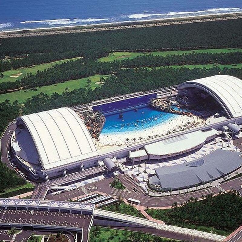 Seagaia Ocean Dome: An Artificial Beach in Japan