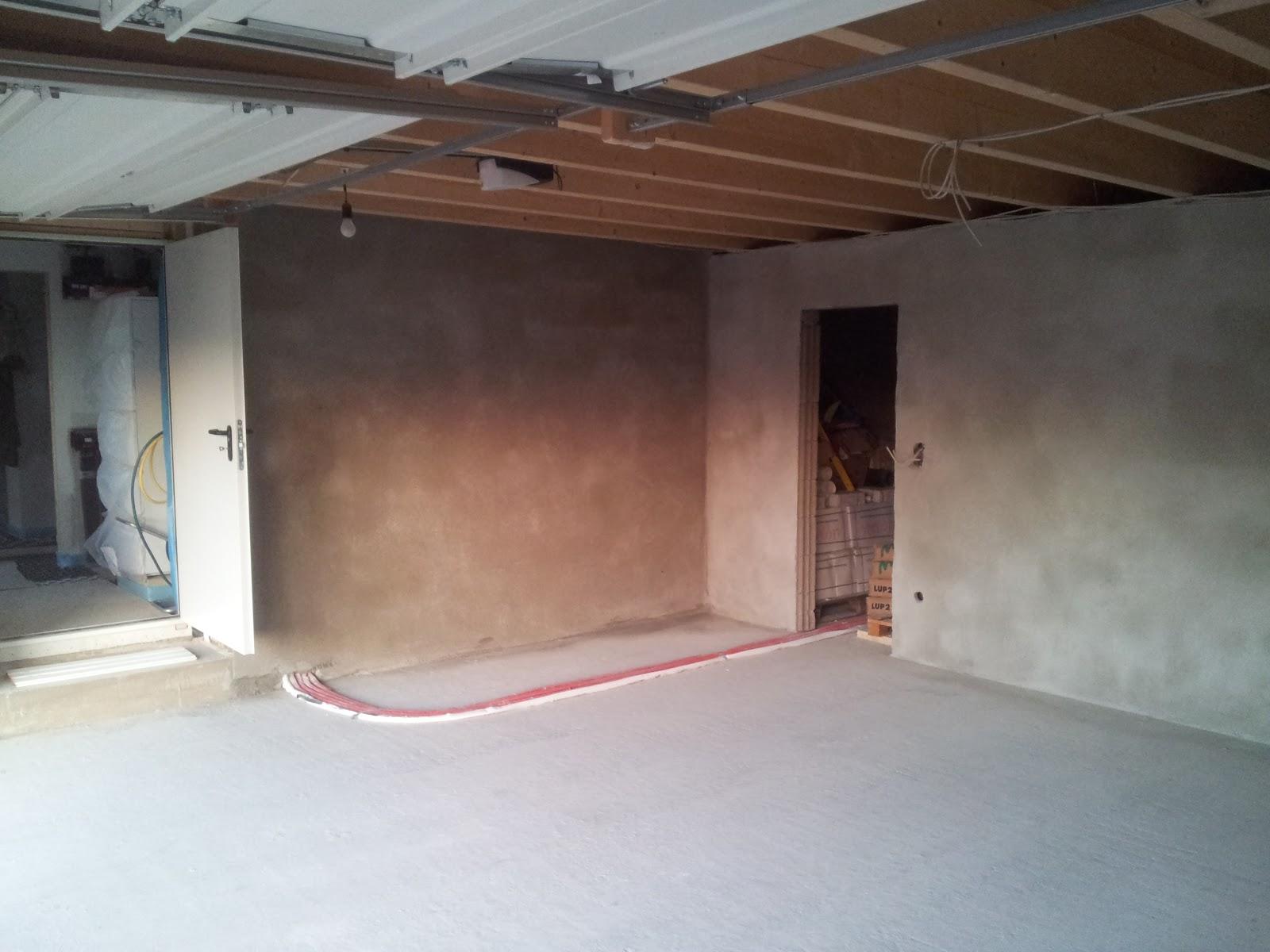 unser traum pro haus estrich garage. Black Bedroom Furniture Sets. Home Design Ideas