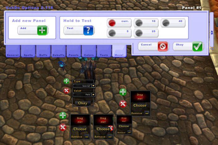 Vuhdo Guide: Vuhdo Setup Walkthrough