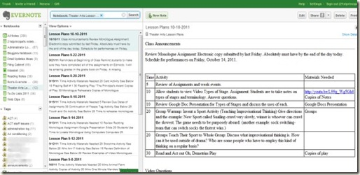 how to create a template in evernote - the 21st century principal 7 ways administrators