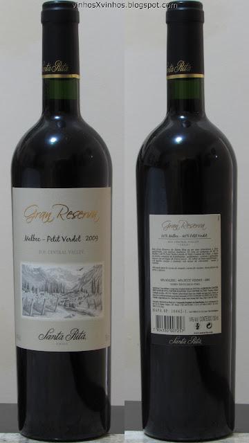 Vinho Santa Rita Gran Reserva