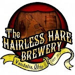 Logo for The Hairless Hare Brewery