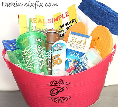 13 Themed Gift Basket Ideas for Women Men u0026 Families .  sc 1 st  ChangeIP & Summer gift basket ideas for teachers