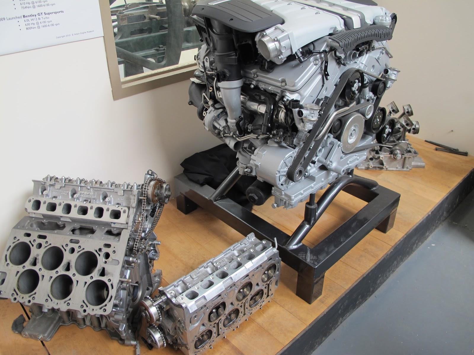 W12 Engine Configuration It's a Bentley W12 Car Engine