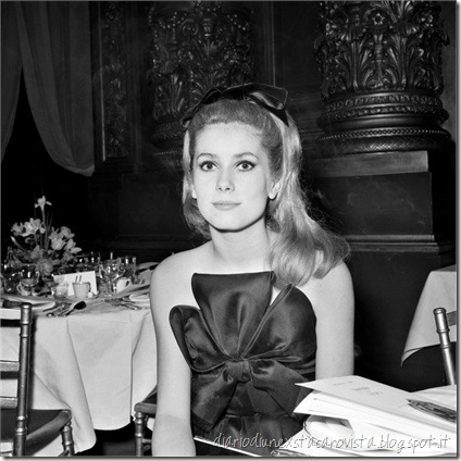 Chaterine Deneuve in Yves Saint Laurent