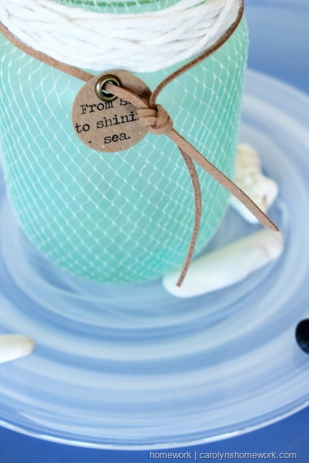 DIY Faux Sea Glass via homework  | carolynshomework (2)