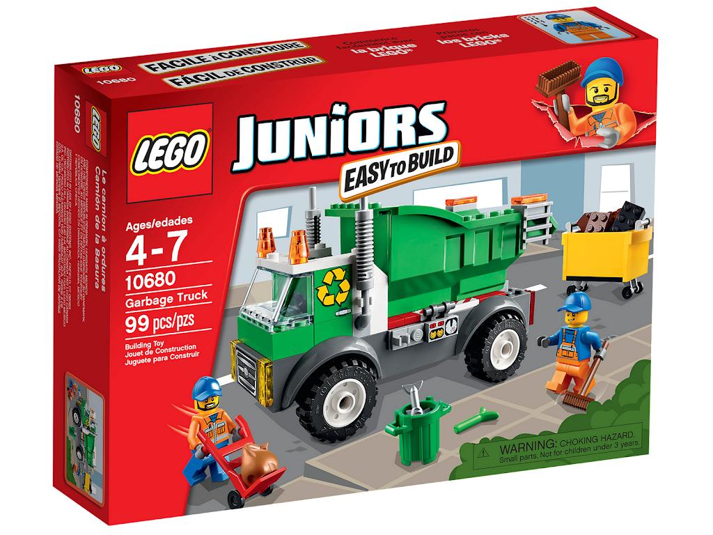 Bricker Construction Toy By Lego 10680 Garbage Truck