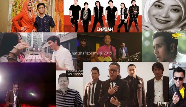 Lagu Melayu Top Masa Kini 2015 #2