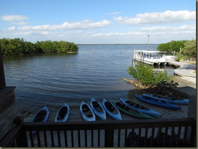 kayak launch at tarpon bay on sanibel $7 per kayak fee