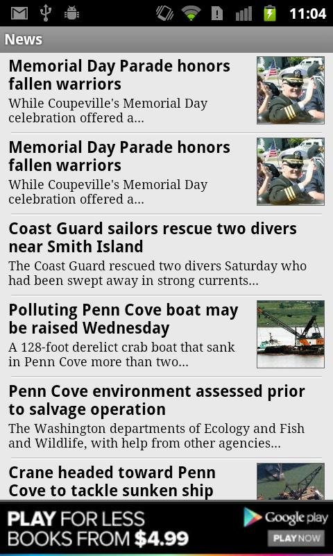 Whidbey News-Times - screenshot