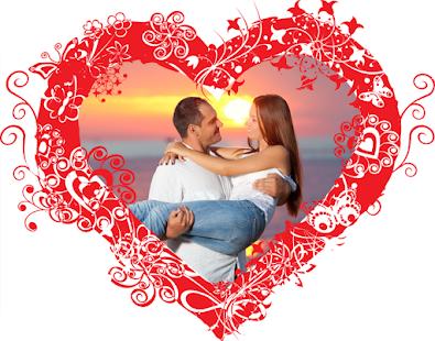 Insta Heart Photo Frames