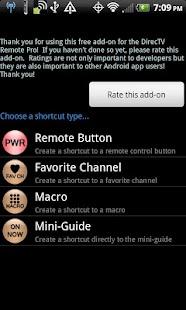 Remote+ Shortcut Addon- screenshot thumbnail