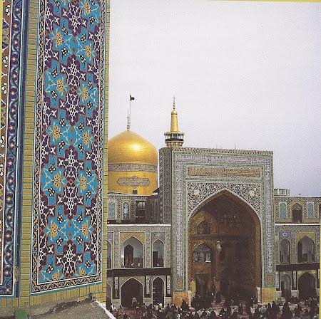 Obiective religioase Iran: Mausoleul Imam Reza Mashad