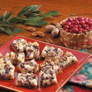 Coconut Cranberry Bars.