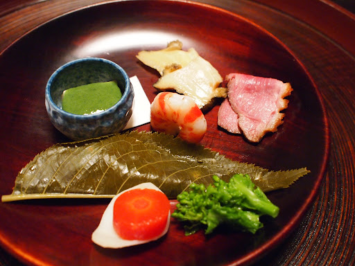 [写真]夕食の「弥生盛肴」