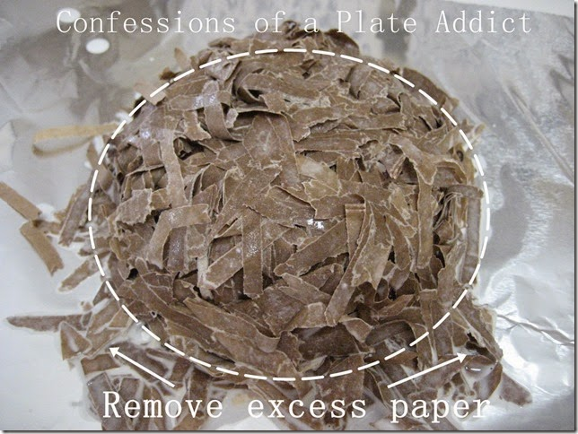 CONFESSIONS OF A PLATE ADDICT Paper Mache Bird's Nest tutorial